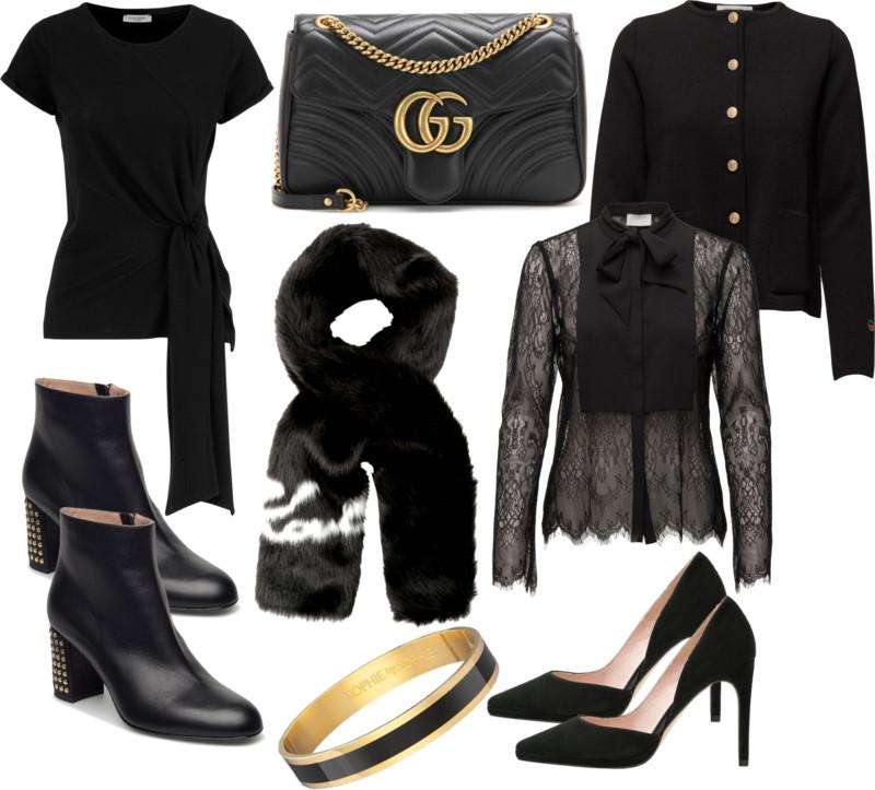 svart guld shopping