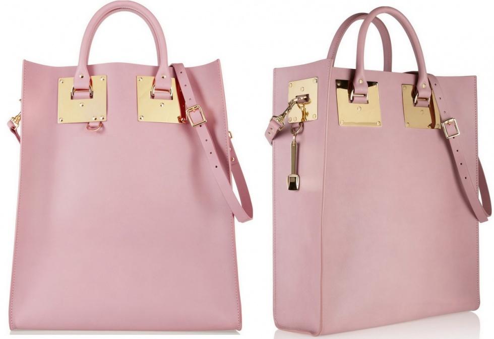 perfekt rosa väska