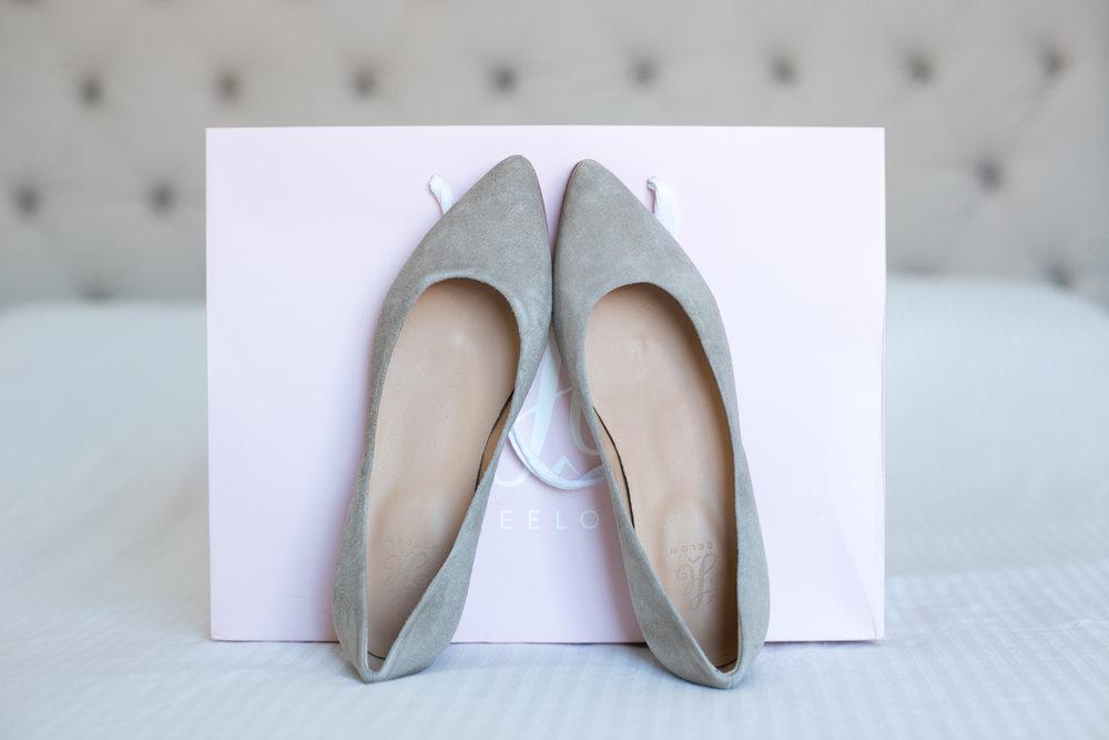 Heelow ballerinas