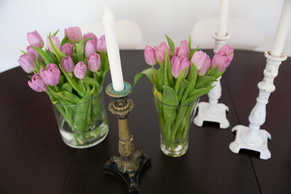 blommor tulpaner rosa