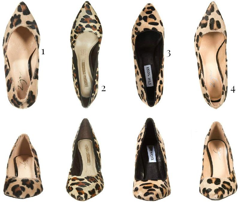 pumps leopard