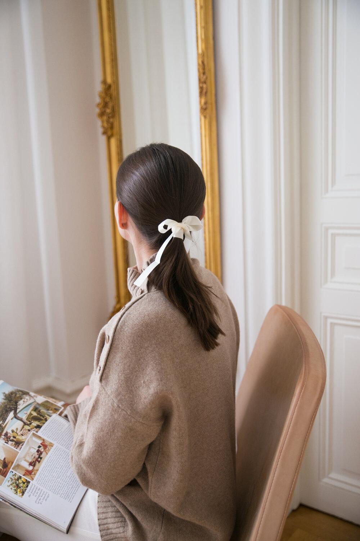 Angelica Aurell mode stil har hastsvans rosett.jpg