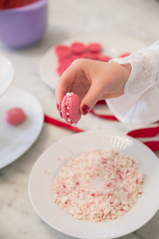 Angelica Aurell macarons polkagris baka.jpg