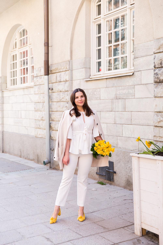 Angelica Aurell stil mode Rizzo Zara gula skor pumps kappa DAY.jpg