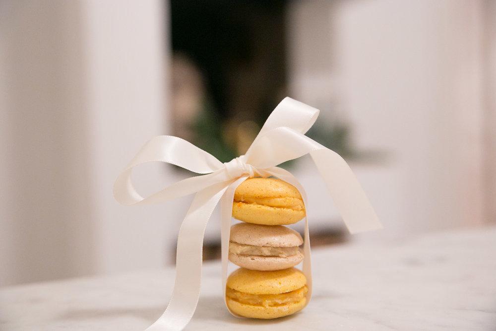 macarons jul saffran pepparkakssmak baka.jpg