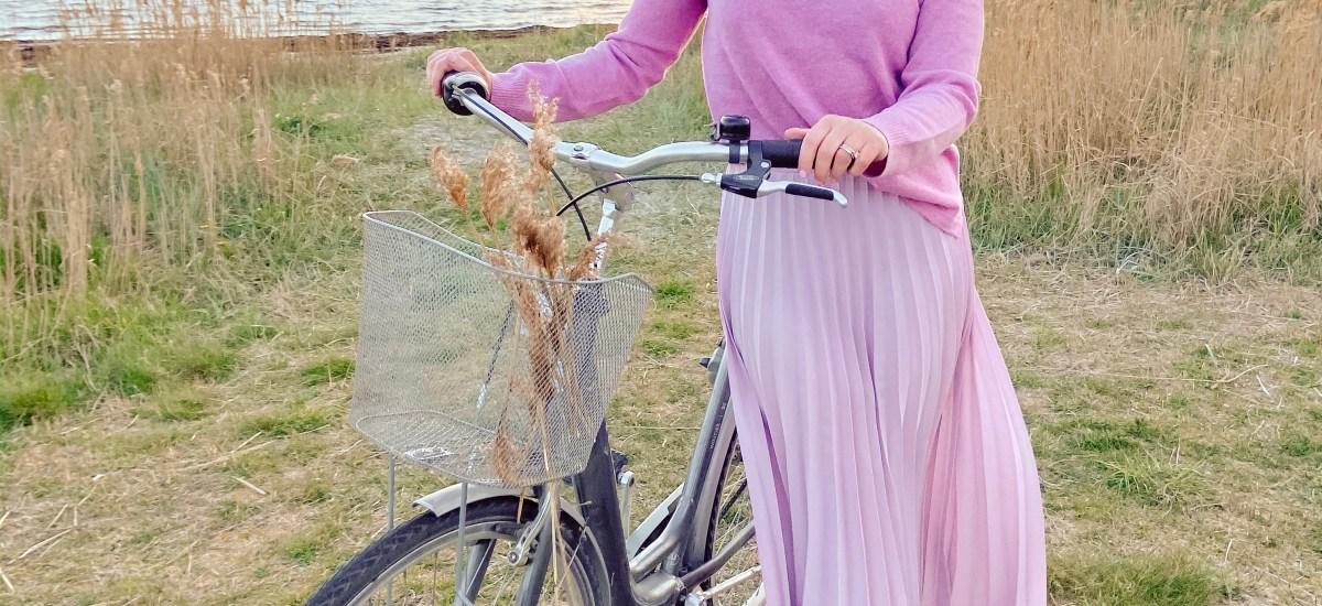 Vårfina plisserade kjolar